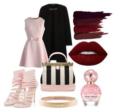 """Untitled #357"" by d-ioana-alexandra on Polyvore featuring Chanel, Burberry, Chicwish, Lime Crime, Marc Jacobs and Serge Lutens"