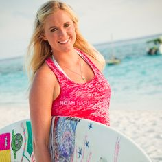 Bethany Hamilton. So inspirational!