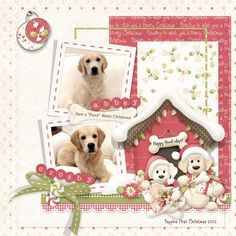 Happy Howl-idays - Scrapbook.com