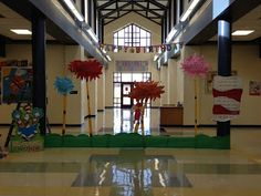 A Librarian Life For Me : -): Teacher Tuesday... a look back on the 12-13 school year! read across america, dr. seuss, lorax