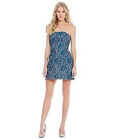 Keepsake Every Way Lace Mini Dress #Dillards