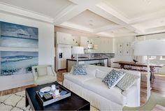 New Construction Beach House with Coastal Interiors