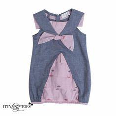 Pink & Denim Dress