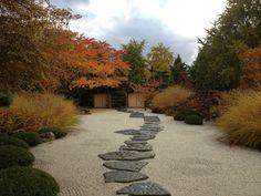 Japanese Gardens at the Chicago Botanic Garden. Japanese Garden Design, Garden Landscape Design, Japanese Gardens, Beach Gardens, Outdoor Gardens, Zen Gardens, Garden Crafts, Garden Art, Sacred Garden