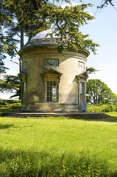 Croome Court by UltraPanavision on Flickr. The Rotunda, designed by 'Capability' Brown and built 1754-7 with later additions by Robert Adam. The building has been rescued from near-collapse by the National Trust.