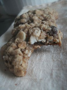 Culinary Couture: Shaheen's Oatmeal-Cranberry White Chocolate Chip Cookies; thumbs up.