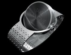 the results of designboom's design time BREIL competition are in! the three winning designs will officially be unveiled at the upcoming milan design week Modern Watches, Luxury Watches, Watches For Men, Sporty Watch, Gold Pocket Watch, Rings N Things, Ring Watch, Futuristic Cars, Baggage