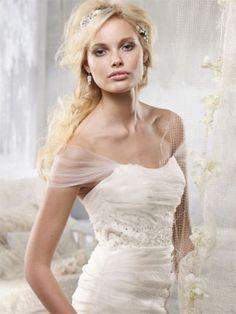 1000 images about alvina valenta on pinterest alvina for Adding straps to wedding dress
