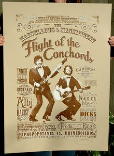 Flight of the Conchords Hand Pulled Limited by BarryDBulsara