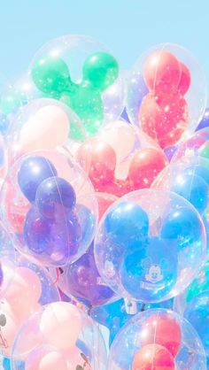 Matt Crump Photography IPhone Wallpaper Pastel Disney Balloons