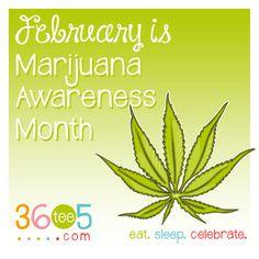 February is Marijuana Awareness Month List Of All Holidays, Wacky Holidays, February Awareness Month, February Month, Special Day Calendar, Holiday Wallpaper, Its All Good, Mary J, Cannabis