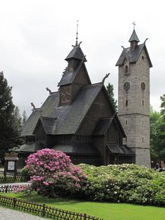 History of Wang Church , Karpacz, Poland - It is a Viking Church transplanted  over 200 years ago