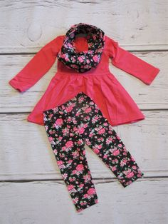 Girls Holiday Scarf Outfits | Jane