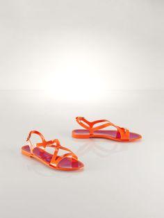 Jessa Sandal - Polo Ralph Lauren Sandals - RalphLauren.com
