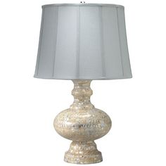 Saint Croix Mother of Pearl Table Lamp from PoshTots #PoshTotsNursery
