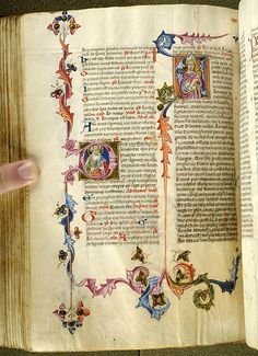 Breviary, MS M.200 fol. 250v - Images from Medieval and Renaissance Manuscripts - The Morgan Library & Museum