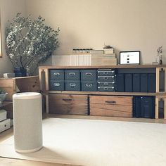 Muji Japanese White Oak TV Cabinet AV Import Wax