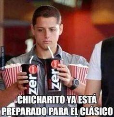 'Chicharito', presente en los memes del Cl�sico