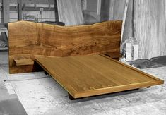 - A bed to dream furniture - Bed from salvaged wood - Hudson Furniture - Dark Wood Furniture, Live Edge Furniture, Dream Furniture, Bed Furniture, Furniture Design, Hudson Furniture, Timber Bed Frames, Timber Beds, Wood Beds