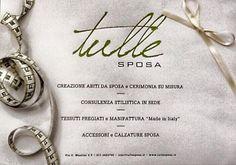 Tulle Sposa Torino sartoria italiana dal 1993 Torino, Tulle, Tutu, Tulle Bows, Mesh, Tulle Skirts