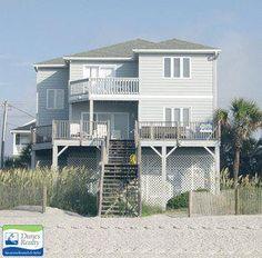 Garden City Beach Rental Beach Home: Ocean Pause   Myrtle Beach Vacation Rentals by Dunes Realty