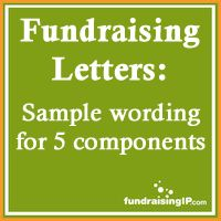 Samples Of Non Profit Fundraising Letters  Wildflower