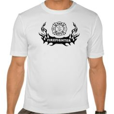 Firefighter Tattoos T-Shirt