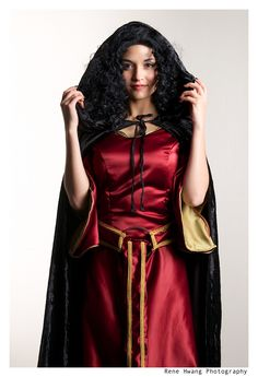 Mother Gothel from Tangled worn by Fushicho