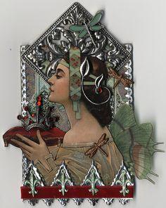 Fairy Queen ATC ~ Artfully Musing (Laura Carson)