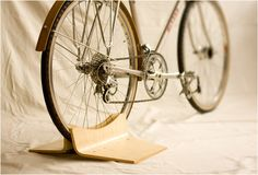 PINCH BIKE STAND   BY CLANK WORKS   Image Not sure where to buy it...