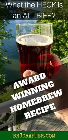 Award Winning Altbier Recipe - Altered Beast - BrÜcrafter