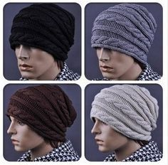 The new Korean version of the thread twist pattern knitted wool cap leisure Free shipping-in Scarf, Hat & Glove Sets from Apparel & Accessor...
