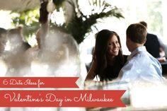 A couple enjoying dinner at Milwaukee's Harbor House restaurant