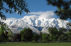 Lived in Orem, UT   with a view of Mt. Timpanogos every day for several years.  This site has some lovely pics of the area where we lived... Enjoy!