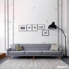 Vinilo decorativo Home 056: Cañas con pajaritos. Vinilos decorativos Vinilos adhesivos Wall Art Stickers wall stickers