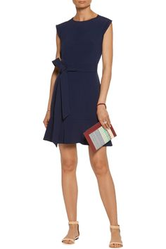Shop on-sale Sandro Belted cutout crepe mini dress. Browse other discount designer Dresses & more on The Most Fashionable Fashion Outlet, THE OUTNET.COM