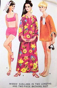 60's Beachwear <3