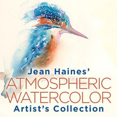 learn from Jean and paint using her palette with the resources included in this bundle: Jean Haines' Atmospheric Watercolor Artist's Collection   NorthLightShop.com #watercolor #painting #art