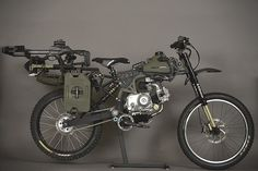 2 words: FREAKING AWESOME!-minus the guns  Motopeds Survival Bike : Black Opps Edition