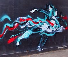 """Life is the Dance"" by Anthony Lister in Melbourne (LP)"