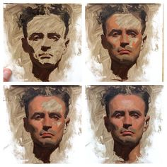 Very straight forward progress snap shots. Excellent for reference painting - Sean Cheetham