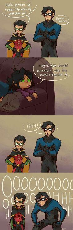 Nightwing, Batgirl, Catwoman, Tim Drake, Marvel Dc Comics, Young Justice, Univers Dc, Damian Wayne, Jason Todd