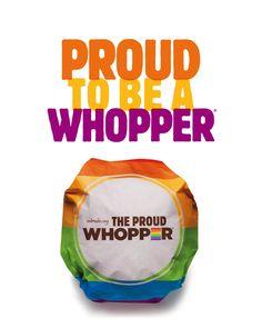 Proud Whopper | Advertising Design for Diversity & Equality | Award-winning…
