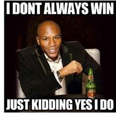 "Floyd ""Money"" Mayweather, LOL!"