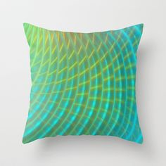 Ripples Throw Pillow by Lyle Hatch - $20.00