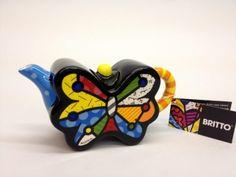 Mini teapot butterfly