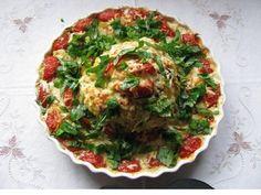Kartoffel-Blumenkohl-Auflauf #blumenkohl #kartoffeln #auflauf #casserole