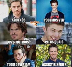 Mozoes das series❤❤❤ Once Upon A Time The Flash The Vampire Diaries Supernatural Teen Wolf Arrow Series Movies, Tv Series, Saga, Teen Wolf Memes, Funny Memes, Jokes, Icarly, Stephen Amell, Vampire Diaries The Originals