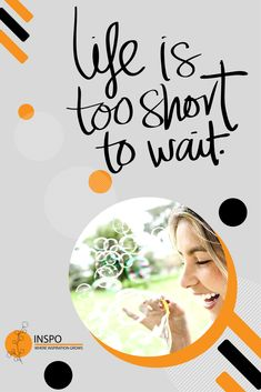 Don't wait around for life... create it #KeepOnWaiting #DontWait