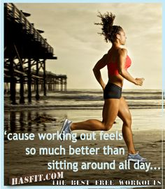 And which one will give you more results? (And if you say sitting around you might need to go work out!)